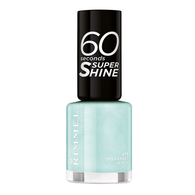 RIMMEL-60 sekund Rita Ora-lak za nohte-873-Breakfast In Bed, 8ml